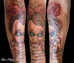 joker sleeve tattoo design photos pictures and sketches