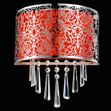 Red Wall Sconces Brizzo Lighting Stores 12