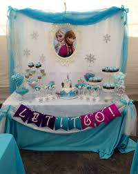 interior design frozen birthday party theme decorations room