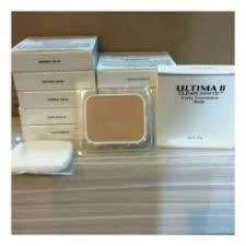 Bedak Ultima Ii Clear White ultima ii wonderwear pressed powder 10gram 02 neutral daftar harga