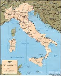 map of italy images free italy maps