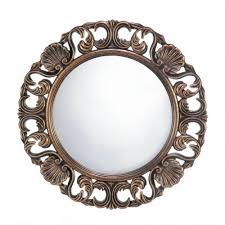 decor heirloom round wall mirror