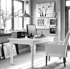 Amazing Black And White Home fice Decorating Ideas Gallery