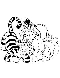 winnie the pooh color pages chuckbutt com