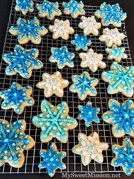 snowflake sugar cookies sugar cookies