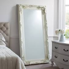 bedroom decorative leaner mirror for home furniture ideas
