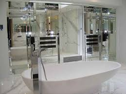 Mirror Bathroom Tiles Mirrored Bathroom Wall Tiles My Web Value