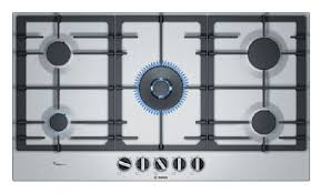 Gas Stainless Steel Cooktop Bosch 90cm Gas Stainless Steel Cooktop Buy Online Heathcote