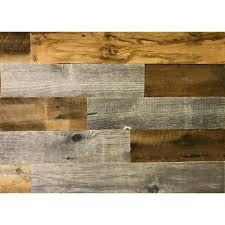 artis wall authentic reclaimed wood wall planks 3 16 in thick x 5