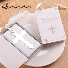 bookmark favors qianxiaozhen 10pcs cross bookmark favors wedding favors and gifts