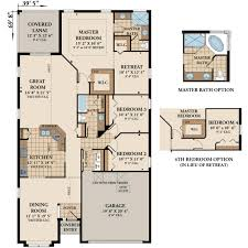 Rivergate Floor Plan by Brighton New Homes In Palm Coast Fl
