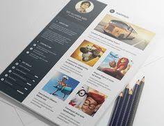 free creative resume template psd id free stuff pinterest