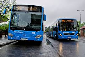 volvo transport buses mercedes benz citaro and volvo 7900 articulated buses
