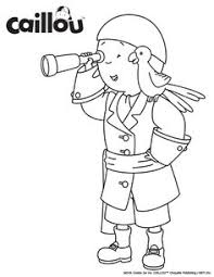 ready learn u2013 caillou coloring sheet caillou activities