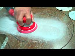 Cutting Corian Countertops Episode 9 Deeply Scratched Dupont Corian Countertop Is Repaired