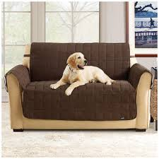 Waterproof Sofa Slipcover by Sure Fit Waterproof Quilted Suede Sofa Pet Cover 292842