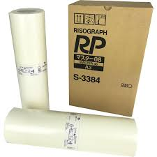 rico risograph rp master rolls s 3384 for rp 3700 u0026 3790 box 2