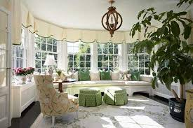 Bay Window Decorating Ideas Blending Functionality With Modern - Family room window ideas