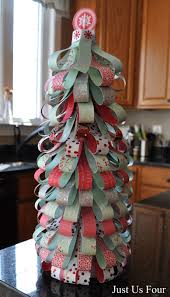the paper christmas tree my suburban kitchen