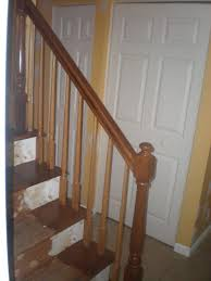 Refinish Banister Banister Refinish And Hallway Paint Interior Painter And