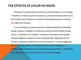 effect of color on mood home design ideas