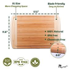 amazon com large bamboo cutting board for kitchen bbq 3 piece amazon com large bamboo cutting board for kitchen bbq 3 piece cooking utensils set includes wooden spoon salad tongs spatula kitchen dining