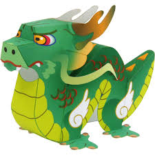 dragon animals paper craft dragon animals paper craft easy chinese
