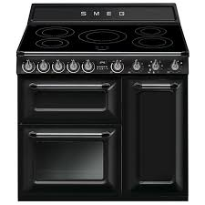 Smeg 110 Gloss Black Induction 255 Best Black Range Cookers Images On Stoves Cookers