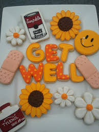 get well soon cookies get well cookies decorated cookies cookie