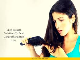 Dandruff And Hair Loss Easy Natural Solutions To Beat Dandruff And Hair Loss