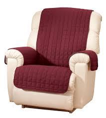 Furniture Grippers Walmart by Microfiber Recliner Protector By Oakridgetm Walmart Com