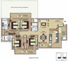 floor square foot house plans sf apartment plan popular trend
