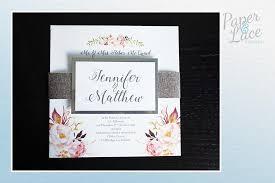 wedding invitations kildare paper lace design home