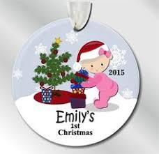 custom baby ornaments baby boy s christmas ornament custom baby s