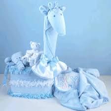 Baby Shower Gentle Giraffe Blue Bgc176 Baby Shower Giraffe