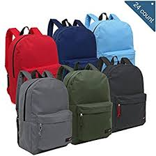 book bags in bulk wholesale 16 5 inch backpacks of 24