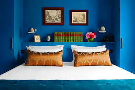 Blue Paint Colors For Bedrooms Modern Blue Paint Color Rich Blue And Pink Interior Decorating