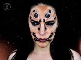 Spider Eyes Makeup Halloween by