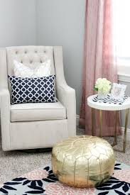 Black And White Chair And Ottoman Design Ideas 1000 Ideas About Gold Pouf On Pinterest Black And White Chair Gold