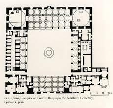 Taj Mahal Floor Plan by Cairo Complex Of Faraj B Barquq In The Northern Cemetery 1400 11