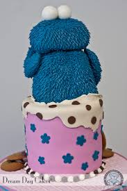 cookie monster birthday cake gainesville fl bearkery bakery