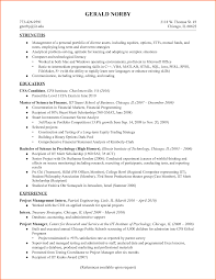 Passed Cpa Exam Resume What Makes A Good Objective On A Resume Good Behavior In