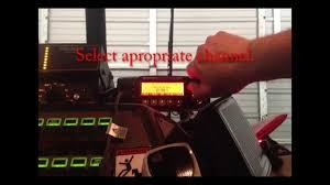 basic vehicle repeater system training youtube