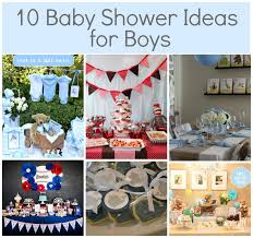 simple boy baby shower ideas babywiseguides com