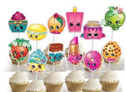 25 shopkins cupcake toppers ideas shopkins