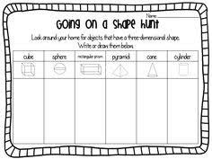 solid figures create an anchor chart together after letting them