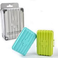 koffer design koffer design medizin 6 slots kapsel box organizer pille