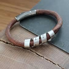Personalized Silver Bracelets Personalized Unisex Secret Message Cuff Bracelet Hand Stamped