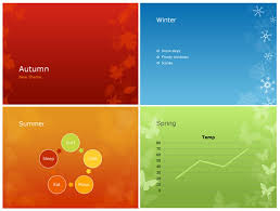 Give Your Presentations A Seasonal Flair With Powerpoint S New Themes Theme Ppt 2010