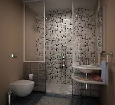 decorative mosaic tiles for small bathroom ideas with acryclic
